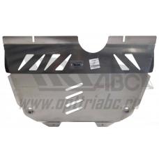 Защита картера двигателя и кпп Lexus NX, V-2.5hib,2,0; 2,0t (2014-)(Алюминий 4 мм)