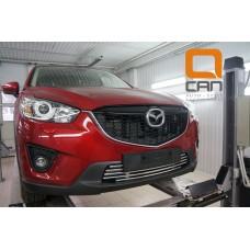 Решетка переднего бампера Mazda CX5 (2012-2015 /2015-) d 16