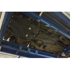 Защита картера двигателя, кпп и рк Toyota Land Cruiser 200 V-4,5D(2015-)/Lexus LX V-4,5D(2015-),2час