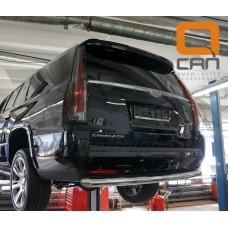 Защита заднего бампера Cadillac Escalade (2014-) (одинарная) d 76