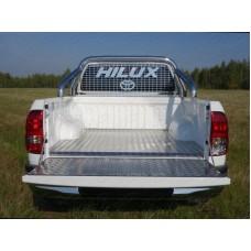 Защитный алюминиевый вкладыш в кузов автомобиля (дно, борт) код TOYHILUX15-18