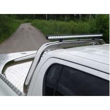 Защита кузова  75х42 мм со светодиодной фарой код TOYHILUX15-40