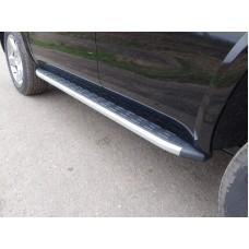 Пороги алюминиевые с пластиковой накладкой 1920 мм код CHEVTAH16-09AL