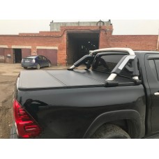 Жесткая трехсекционная крышка для NEW Toyota Hilux