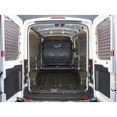 Защитный алюминиевый вкладыш в кузов автомобиля (комплект) код FORTRAN16-13