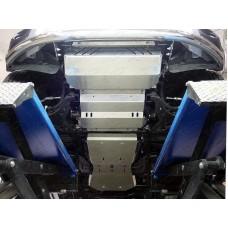 Защита радиатора (алюминий 4мм) код ZKTCC00154