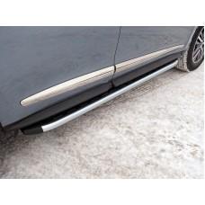 Пороги алюминиевые с пластиковой накладкой 1720 мм код INFQX6016-45AL