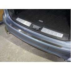 Накладка на задний бампер (лист шлифованный) код INFQX6016-10