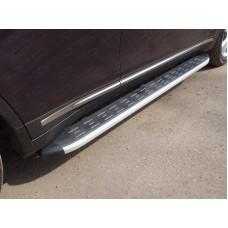 Пороги алюминиевые с пластиковой накладкой 1820 мм код INFQX7015-09AL