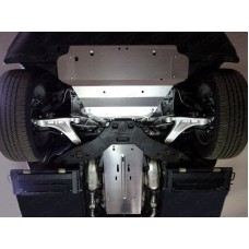 Защита КПП и раздатки (алюминий) 4 мм код ZKTCC00005
