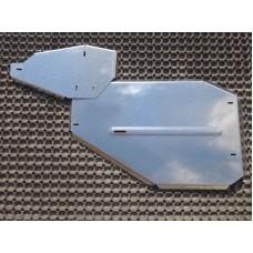 Защита дифференциала (алюминий) 4мм (не устанавливается без ZKTCC00134) код ZKTCC00135
