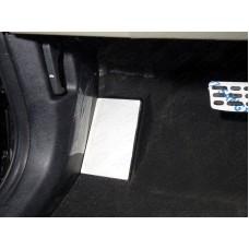 Накладка площадки левой ноги (лист алюминий 4мм) код KIASORPR18-09