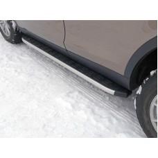 Пороги алюминиевые с пластиковой накладкой 1820 мм код LRDISSPOR15-05AL