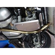Защита заднего редуктора (алюминий) 4 мм код ZKTCC00165