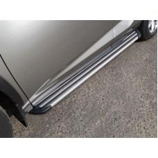 Пороги алюминиевые `Slim Line Silver` 1720 мм код LEXNX20015T-28S