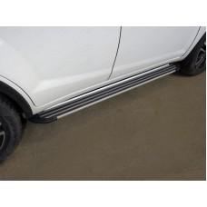 Пороги алюминиевые `Slim Line Silver` 1720 мм код LIFX6017-22S