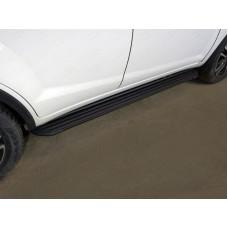 Пороги алюминиевые `Slim Line Black` 1720 мм код LIFX6017-22B