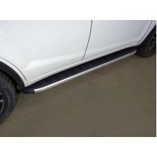 Пороги алюминиевые с пластиковой накладкой 1720 мм код LIFX6017-21AL