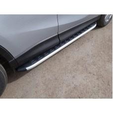 Пороги алюминиевые с пластиковой накладкой 1720 мм код MAZCX515-16AL