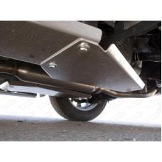 Защита левого бака (алюминий) 4мм код ZKTCC00127