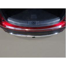 Накладка на задний бампер (лист шлифованный с полосой) код MAZCX917-08