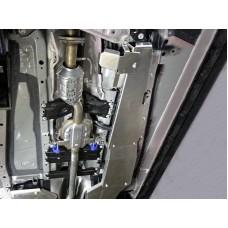 Защита топливопровода (алюминий) 4мм (компл 2шт) код ZKTCC00338