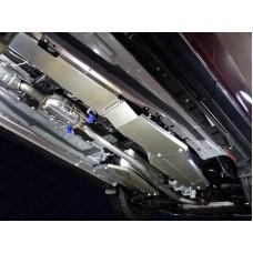 Защита бака (алюминий) 4 мм (комплект 2шт) код ZKTCC00336
