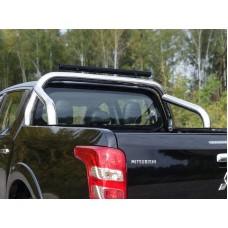 Защита кузова 76,1 мм со светодиодной фарой код MITL20015-19
