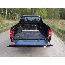 Защитный алюминиевый вкладыш в кузов автомобиля (дно, борт) код MITL20015-21