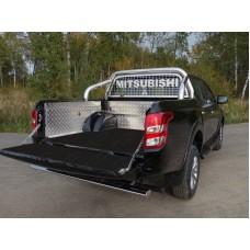 Защитный алюминиевый вкладыш в кузов автомобиля (без борта и дна) код MITL20015-43
