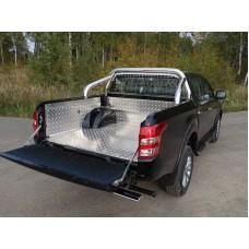 Защитный алюминиевый вкладыш в кузов автомобиля (без борта) код MITL20015-44
