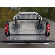 Защитный алюминиевый вкладыш в кузов автомобиля (комплект) код MITL20015-22