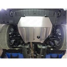 Защита картера (алюминий) 4мм код ZKTCC00066 (двиг. 3L V6)