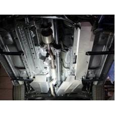 Защита бака левая (алюминий) 4мм код ZKTCC00071