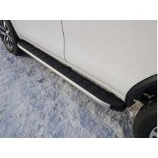 Пороги алюминиевые с пластиковой накладкой 1820 мм код TOYFORT17-30AL