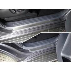 Накладки на пластиковые пороги (лист шлифованный) 4шт код TOYLC15017-22