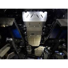 Защита переднего дифференциала (алюминий) 4 мм код ZKTCC00101