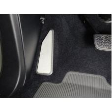 Накладка площадки левой ноги (лист алюминий 4мм) код TOYLC200EXCAL17-19