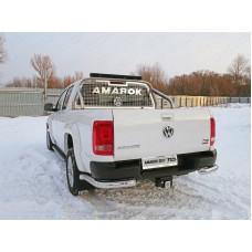 Защита кузова и заднего стекла со светодиодной фарой 75х42 мм (на кузов) код VWAMAR17-24