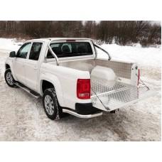 Защитный алюминиевый вкладыш в кузов автомобиля (комплект) код VWAMAR17-04