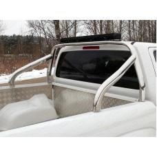 Защита кузова со светодиодной фарой 75х42 мм (на кузов) код VWAMAR17-23