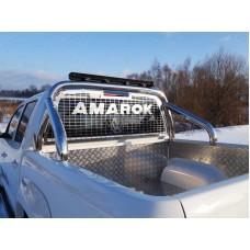 Защита кузова и заднего стекла со светодиодной фарой 76,1 мм (на кузов) код VWAMAR17-16