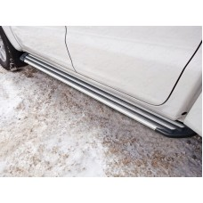 Пороги алюминиевые `Slim Line Silver` 1920 мм код VWAMAR17-62S