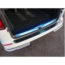 Накладка на задний бампер (лист зеркальный с надписью Multivan) код VWMULT15-20