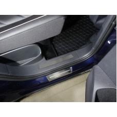 Вставки задние на пластиковые пороги (лист шлифованный) 2шт код VWTIGOFR17-55