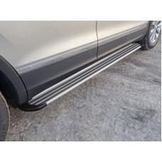Пороги алюминиевые `Slim Line Silver` 1820 мм код VWTIG17-51S