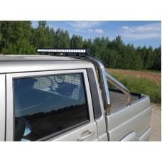 Защита кузова и заднего стекла 75х42 мм со светодиодной фарой код UAZPIC2016-29