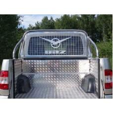 Защитный алюминиевый вкладыш в кузов автомобиля на пластик (комплект) код UAZPIC2016-07