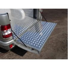 Защитный алюминиевый вкладыш в кузов автомобиля (борт) код UAZPIC2016-02