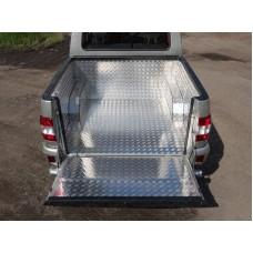 Защитный алюминиевый вкладыш в кузов автомобиля (комплект) код UAZPIC2016-04